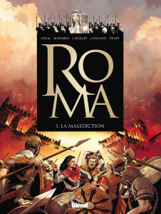 "Le cover originali dei primi due volumi di ""Roma"""