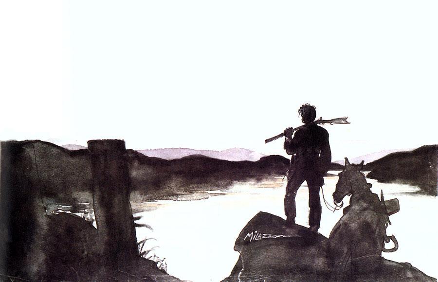 """""""Le colline sacre"""" © Mondadori Comics Berardi/Milazzo"""