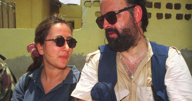 La giornalista Ilaria Alpi e l'operatore Miran Hrovatin