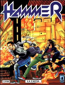 """La cover del numero 2 della precedente edizione di """"Hammer"""""""