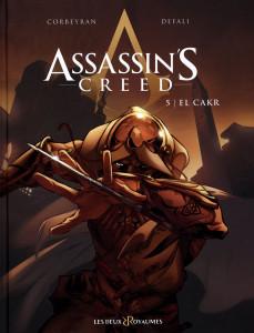 """Alcune cover della bande dessinée di """"Assassin's Creed"""" realizzata da Corbeyran e Defali © Les Deux Royaumes"""