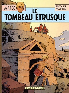 "Cover celebrativa de ""La tomba etrusca"""