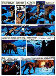 "Tavola de ""Il principe del Nilo"""