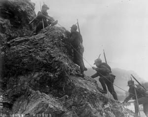 Alpini italiani sul fronte