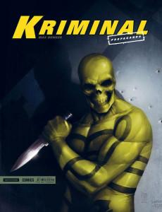 """Cover del numero 0 di """"Kriminal"""""""