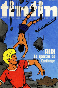 "Una cover de ""Le journal de Tintin"" © Eredi Martin/Casterman"