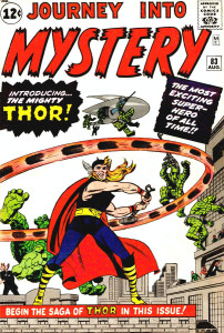 Cover originali di due avventure del potente Thor © Marvel Entertainment Group