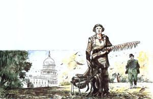 """Omicidio a Washington"" © Mondadori Comics Berardi/Milazzo"