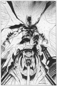 Batman disegnato da garcia © DC Comics