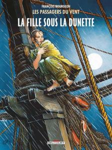 """Cover di due edizioni del primo volume de """"I passeggeri del vento"""" © Francois Bourgeon"""