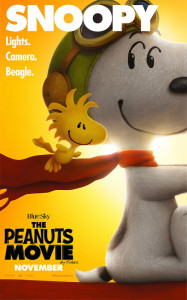 "Tre locandine per il film ""Snoopy & Friends"" © Blue Sky/20th Century Fox"