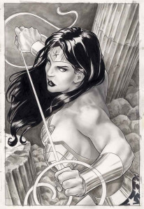 Garcia disegna Wonder Woman © DC Comics