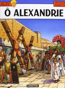 """La cover originale di """"Oh, Alessandria"""" © Eredi Martin/Casterman"""