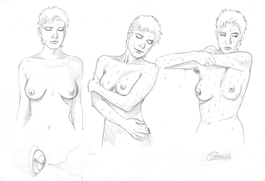 Sketch di Helena eseguiti da Simeoni