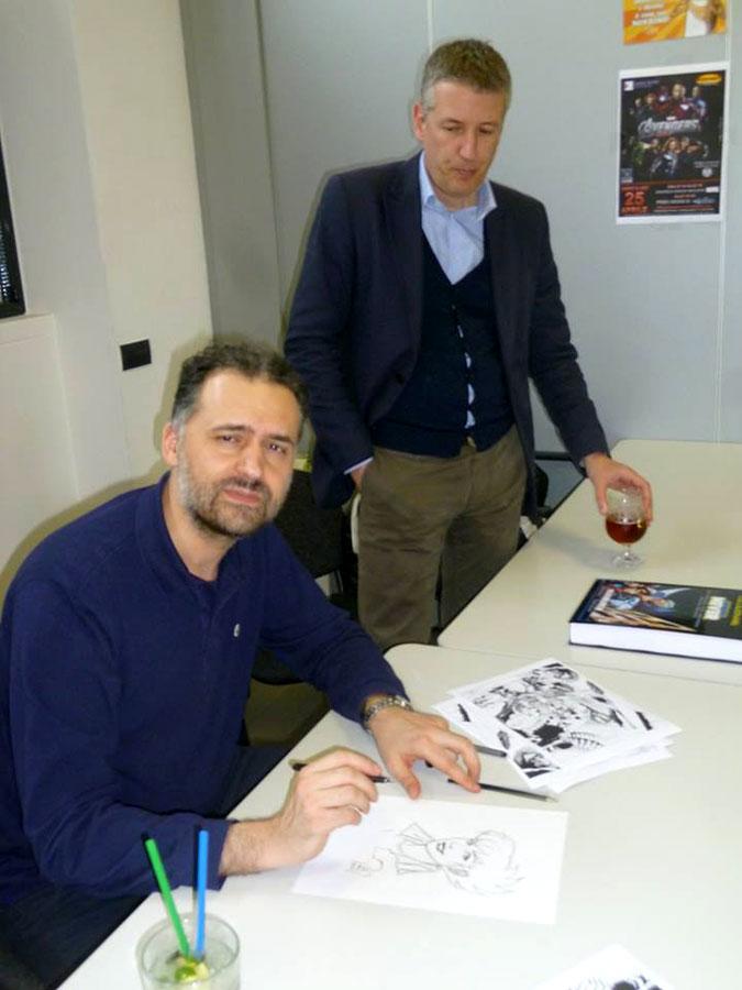 Giancarlo Olivares e Stefano Vietti