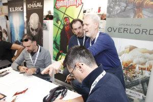 Majo, Giancarlo Olivares, Gigi Simeoni, Riccardo Borsoni e Marco Febbrari
