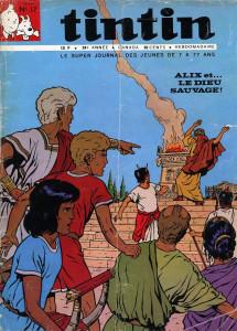 """Cover storiche di alcuni numeri de """"Le journal de Tintin"""""""