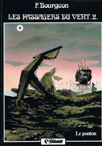 """Cover di due edizioni del secondo volume de """"I passeggeri del vento"""" © Francois Bourgeon"""