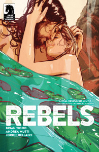 """Cover di """"Ribelli"""" dipinte da Tula Lotay © degli aventi diritto"""