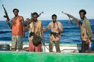 "I pirati somali del film ""Captain Phillips"" © Columbia Pictures"
