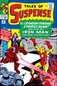 Iron Man, eroe americano della Guerra Fredda, contro Titanium Man e la Vedova Nera, avversari sovietici © Marvel Entertainment Group