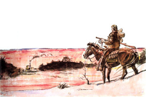 """Storia d'armi e d'imbrogli"" © Mondadori Comics Berardi/Milazzo"