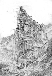 """Sketch e tavole  di Ferniani per il secondo tomo de """"La via della spada"""" © degli aventi diritto"""