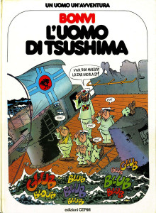 "Cover originale del graphic novel ""L'uomo di Tsushima"" edito dalla Cepim"