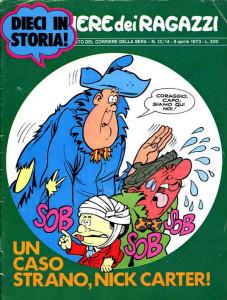 """Una cover d'antàn de """"Il Corriere dei Ragazzi"""""""