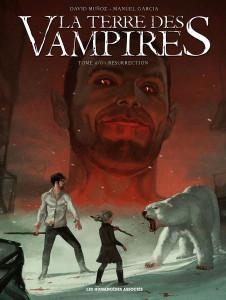 "Cover originali de ""La Terra dei Vampiri"" © Les Humanoides"