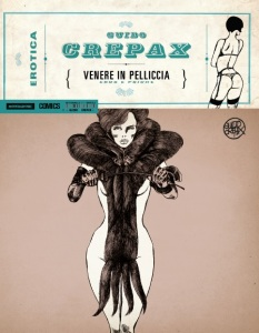 Guido Crepax Erotica - Venere in pelliccia