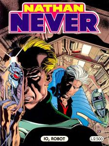 """Una cover di """"Nathan Never"""" disegnata da Claudio Castellini © Sergio Bonelli Editore"""