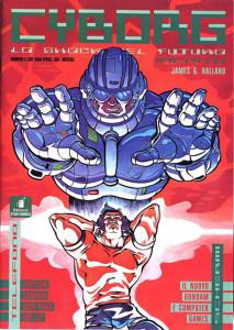 """Una cover della prima serie della rivista """"Cyborg"""""""