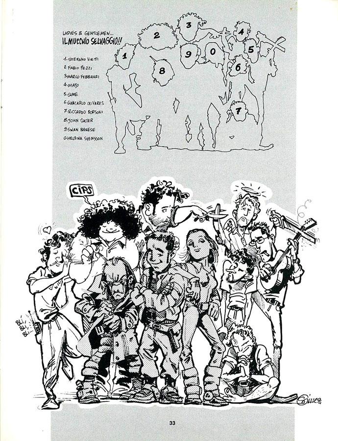 Un ritratto umoristico del Gruppo Hammer