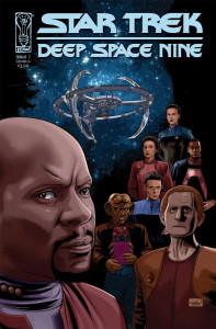 "Un albo di ""Star Trek: Deep Space Nine"" disegnato da Mantovani © IDW"