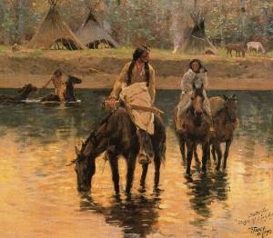 Ivo 17 Henry Farny Giorni lontani nel tempo, 1903