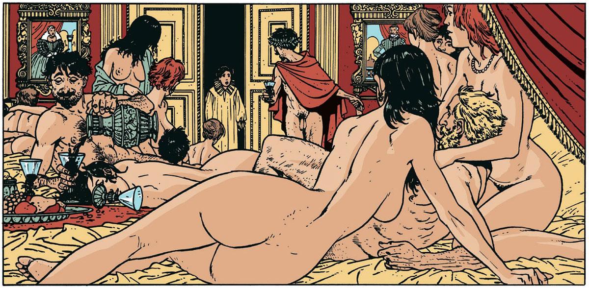 """Vignetta tratta da """"Le sette vite dello Sparviero"""""""